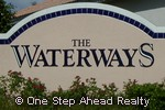 sign for The Waterways