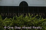 sign for Waters Edge Estates